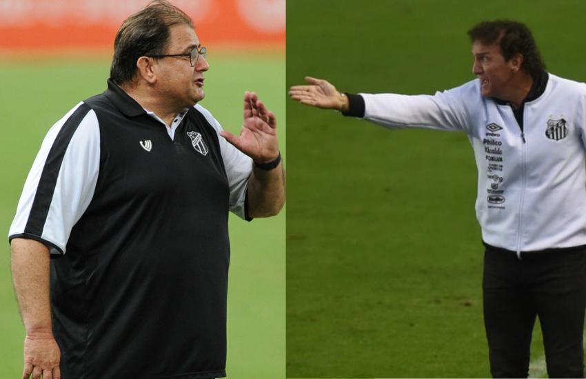 Ceará começa a luta com o Santos por vaga nas quartas de final